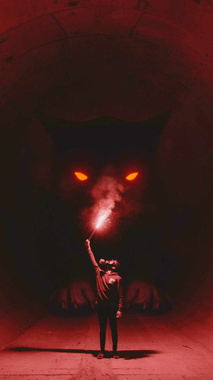 Darkness iPhone Wallpaper