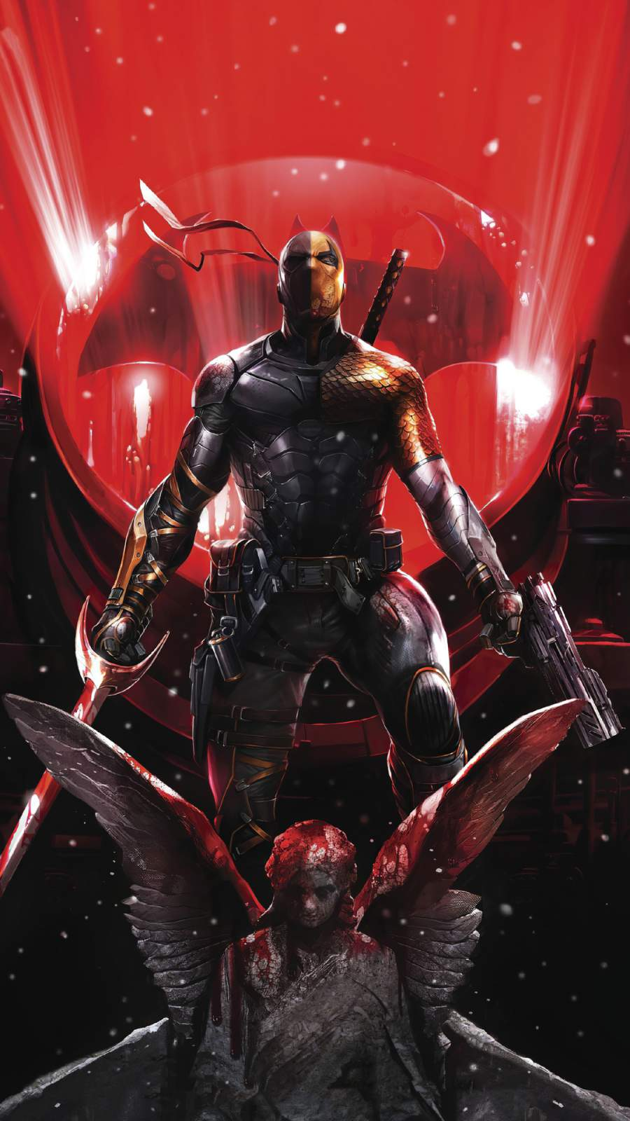 Deathstroke 2020 iPhone Wallpaper