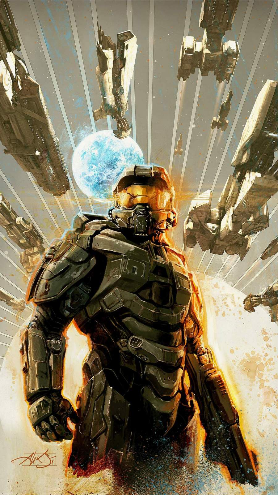 Halo Master Chief iPhone Wallpaper