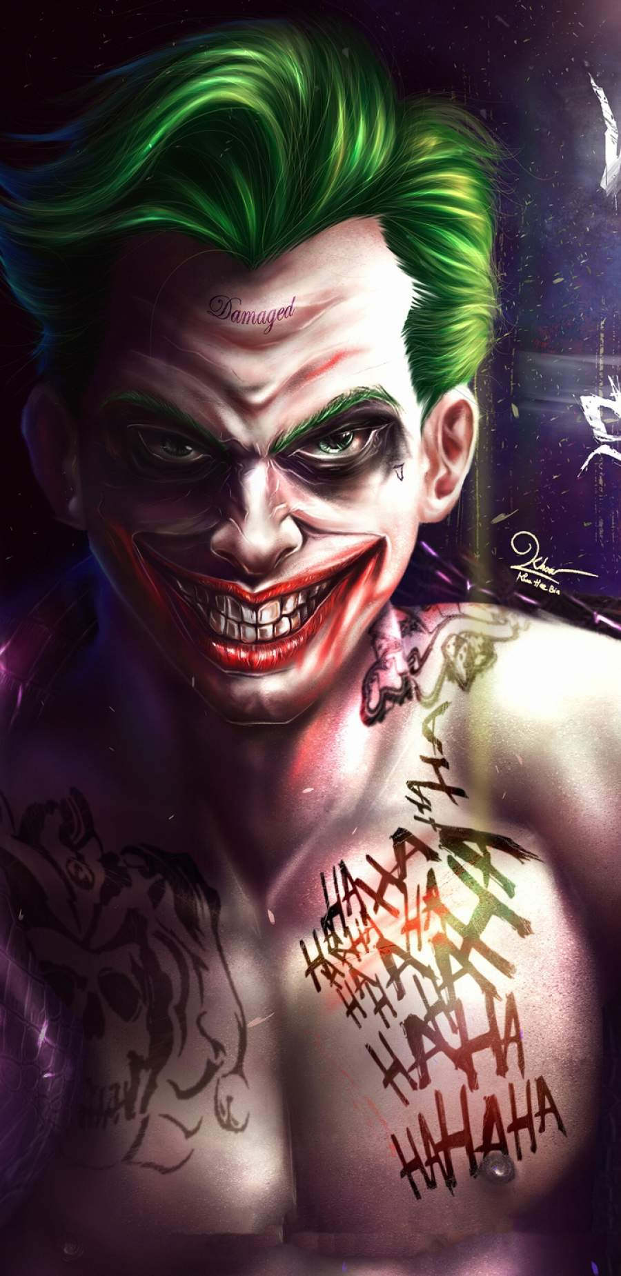 Joker 4k Art iPhone Wallpaper