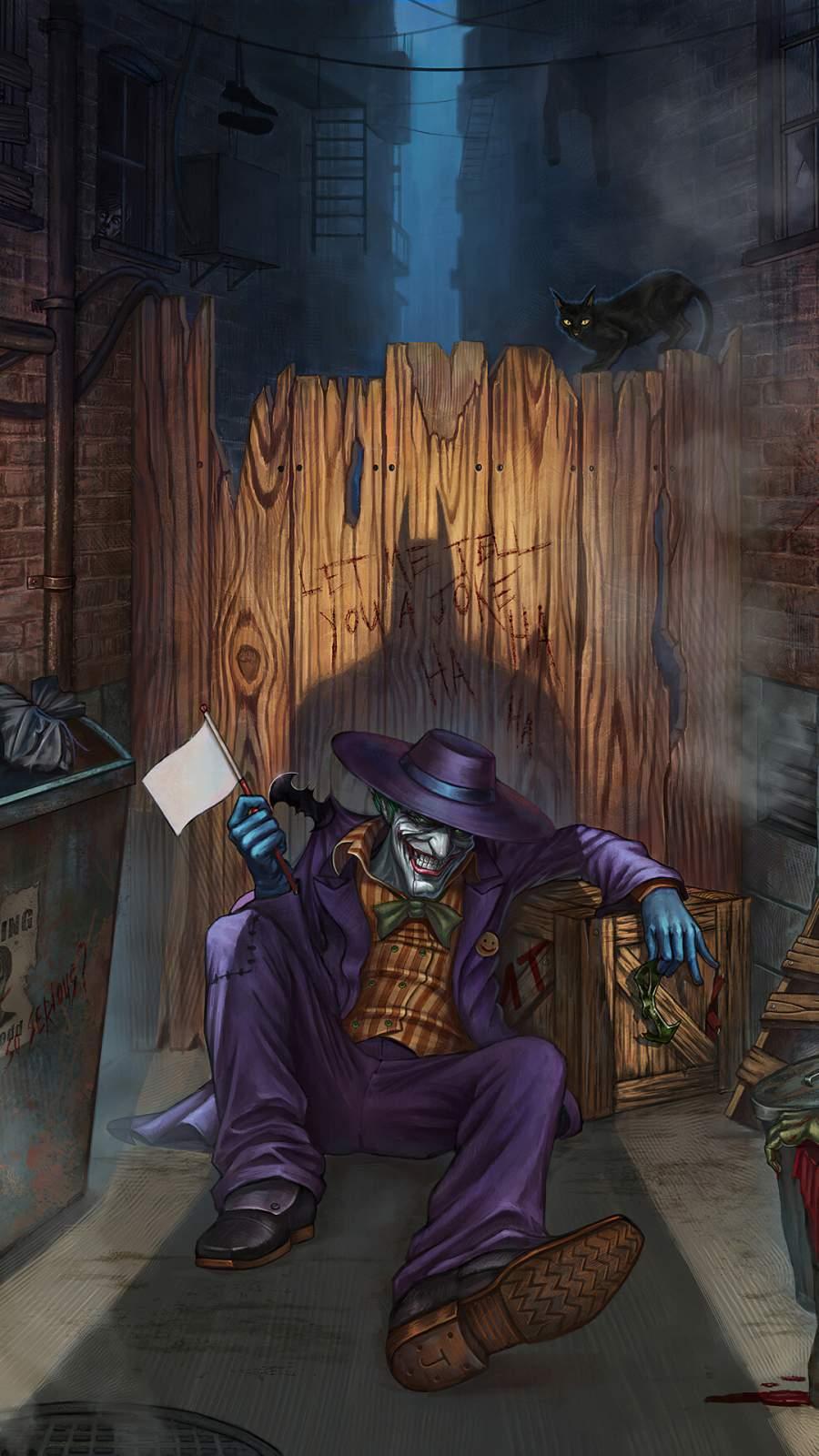 Joker Loser iPhone Wallpaper