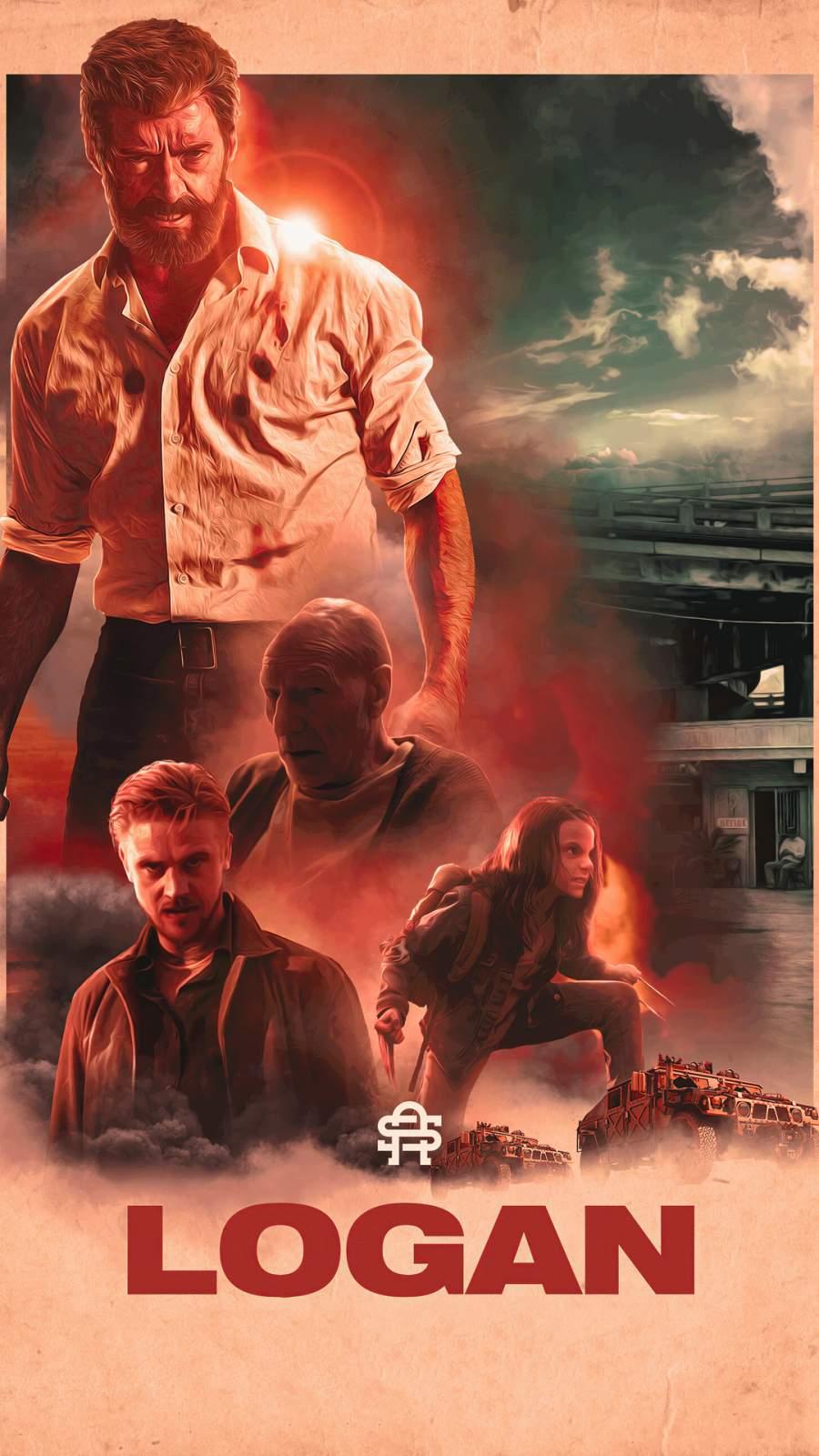 Logan Poster iPhone Wallpaper