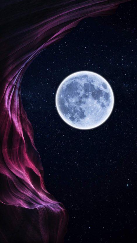 Moon Nature iPhone Wallpaper