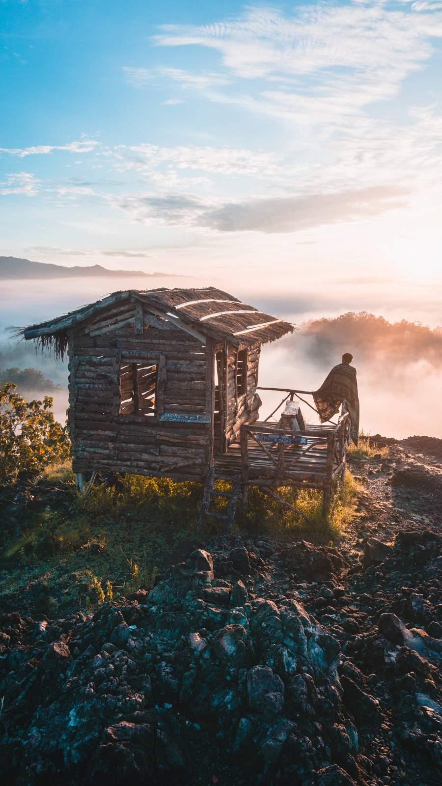 Mountains Solitude iPhone Wallpaper