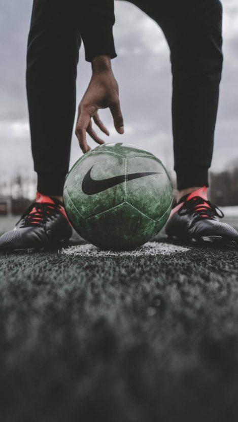 Nike Football iPhone Wallpaper