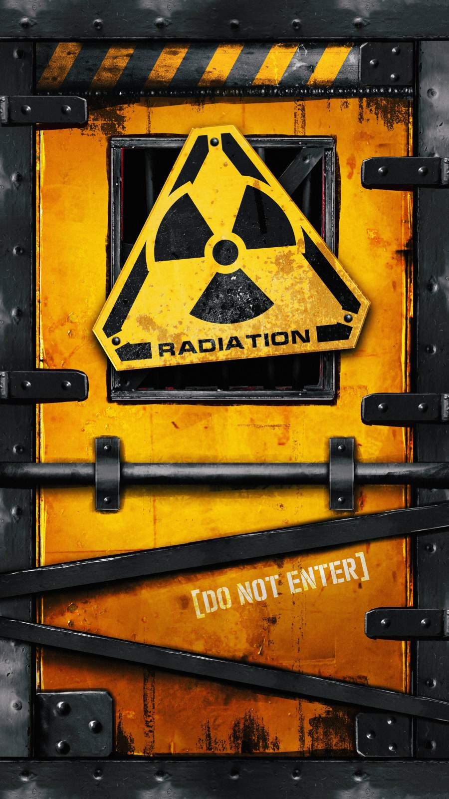 Radiation Zone iPhone Wallpaper
