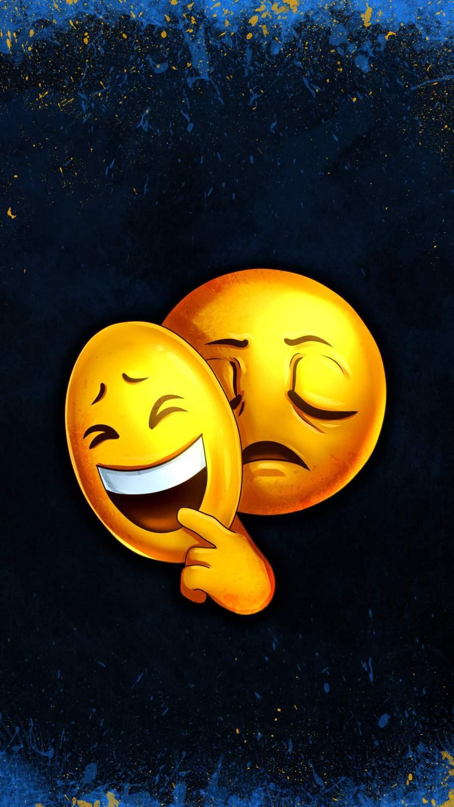 Smiley Emoticon iPhone Wallpaper