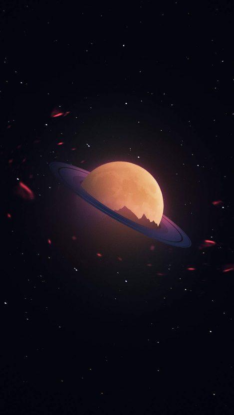 Space Art iPhone Wallpaper