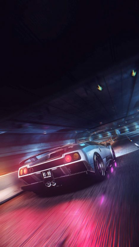 Speed Hunter iPhone Wallpaper