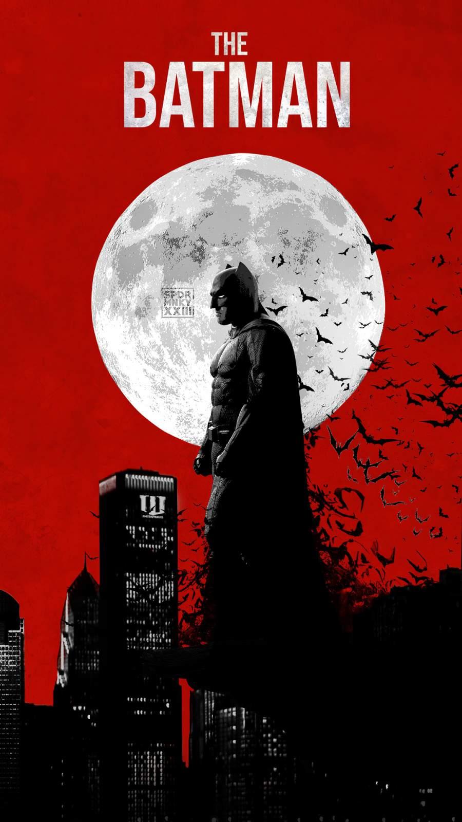 The Batman 4k iPhone Wallpaper