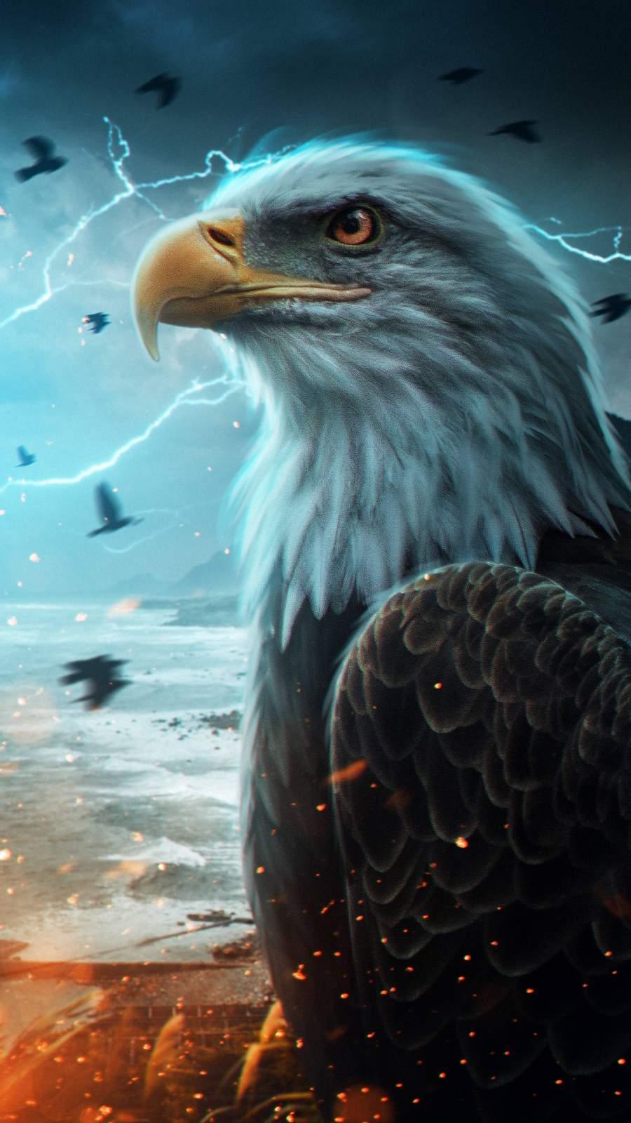 The Predator Eagle iPhone Wallpaper