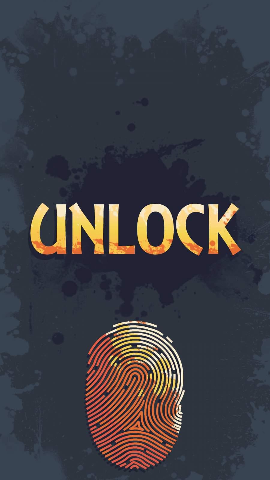 Unlock iPhone Wallpaper