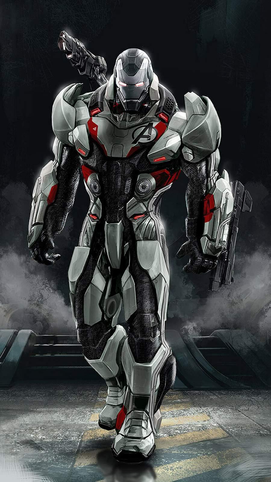 War Machine Quantum Suit iPhone Wallpaper