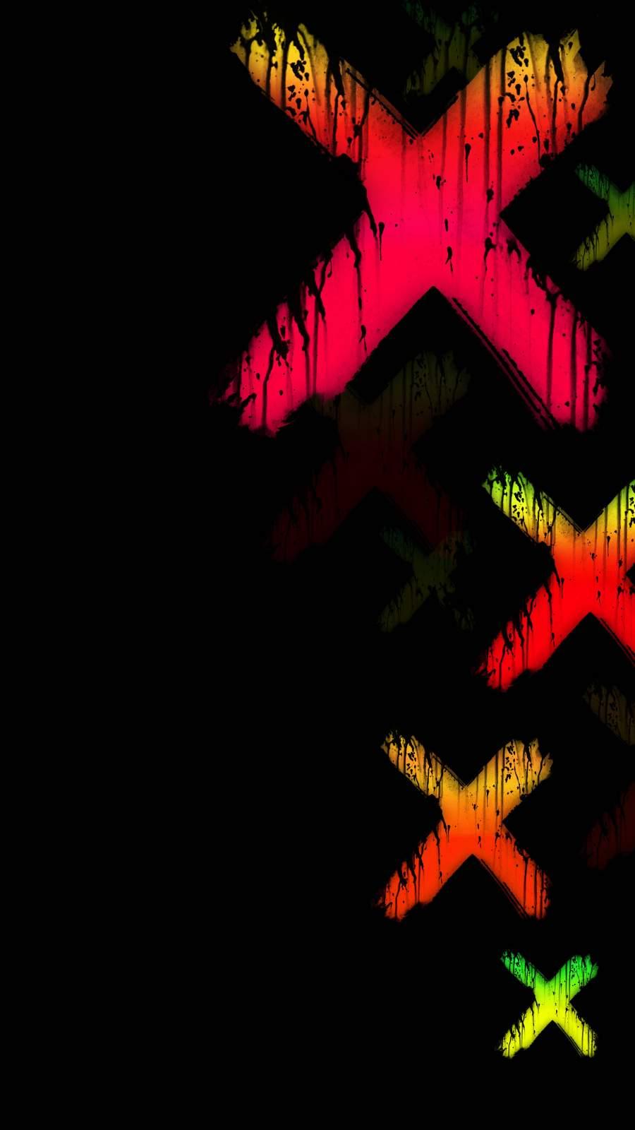 X Amoled iPhone Wallpaper