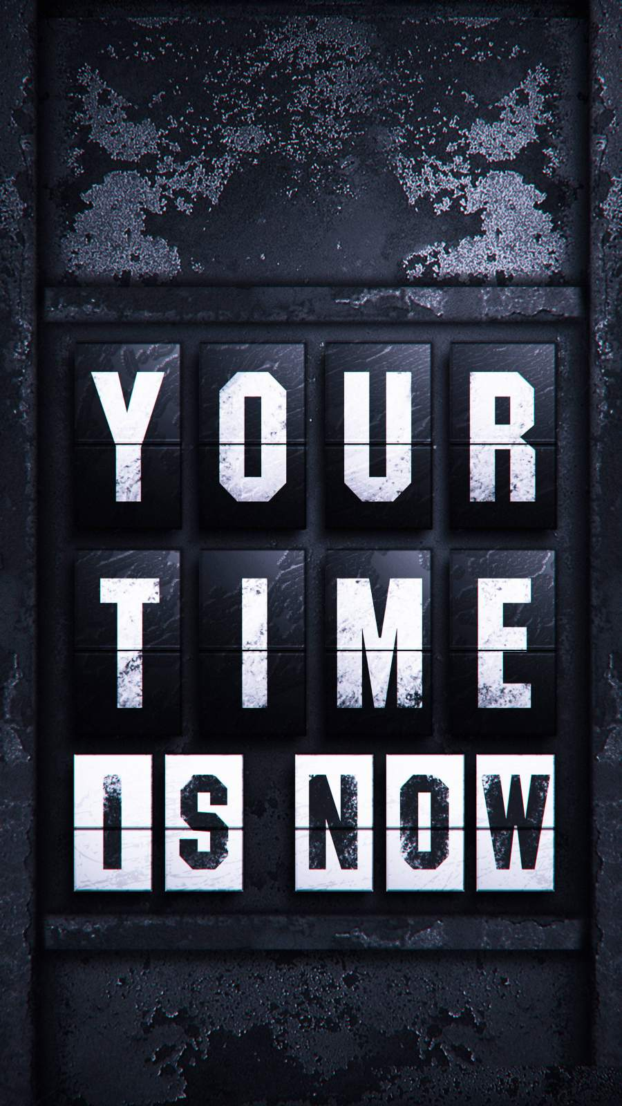 Your Time is Now iPhone Wallpaper