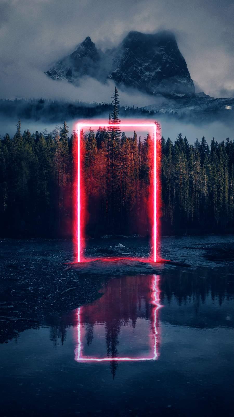 Forest Neon Light