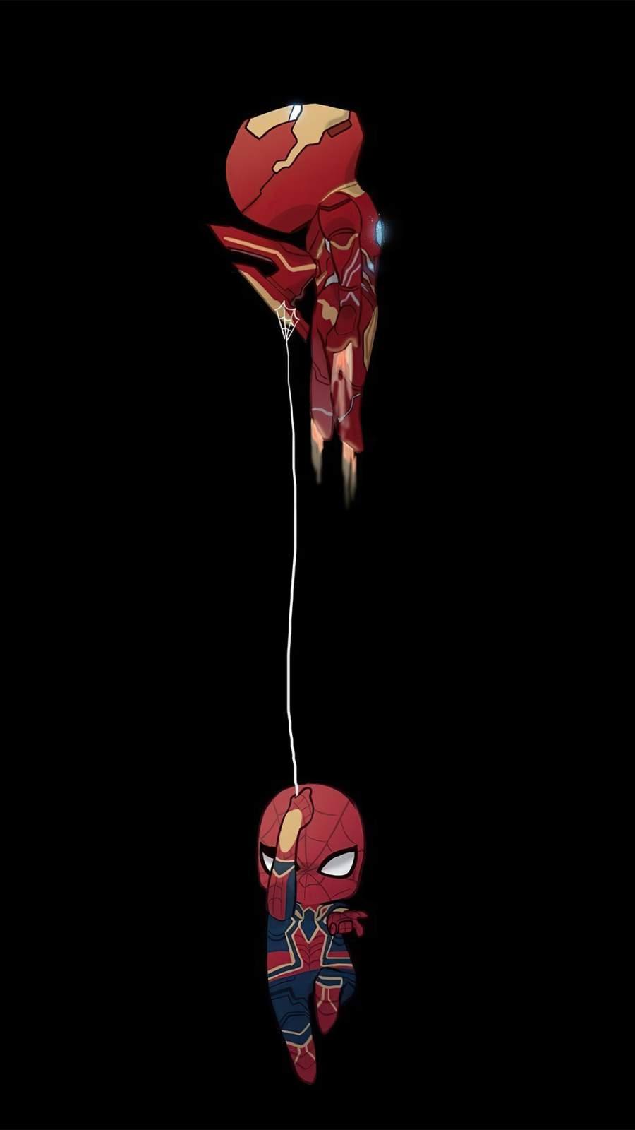 Iron Man and Spiderman Minimal