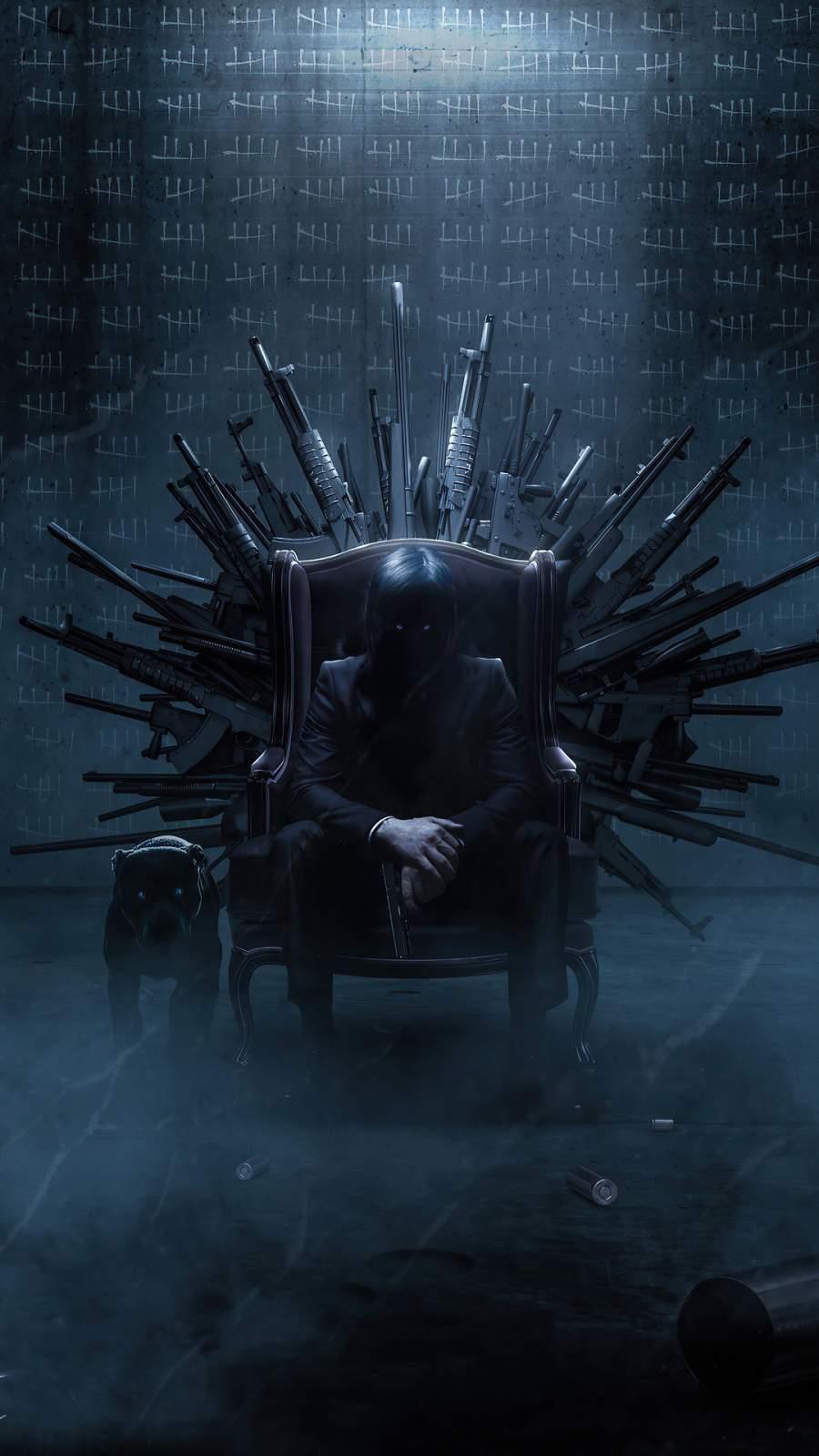 John Wick Throne
