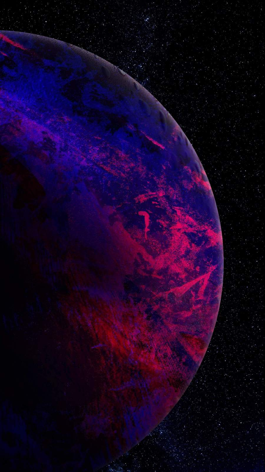 Marble Texture Planet