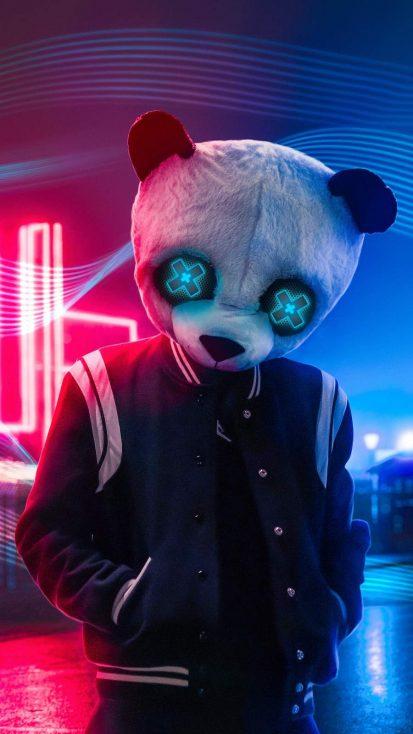 Neon Panda