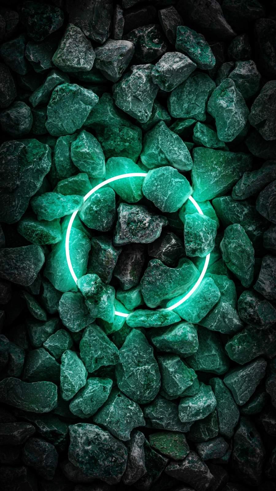 Neon Stone Ring