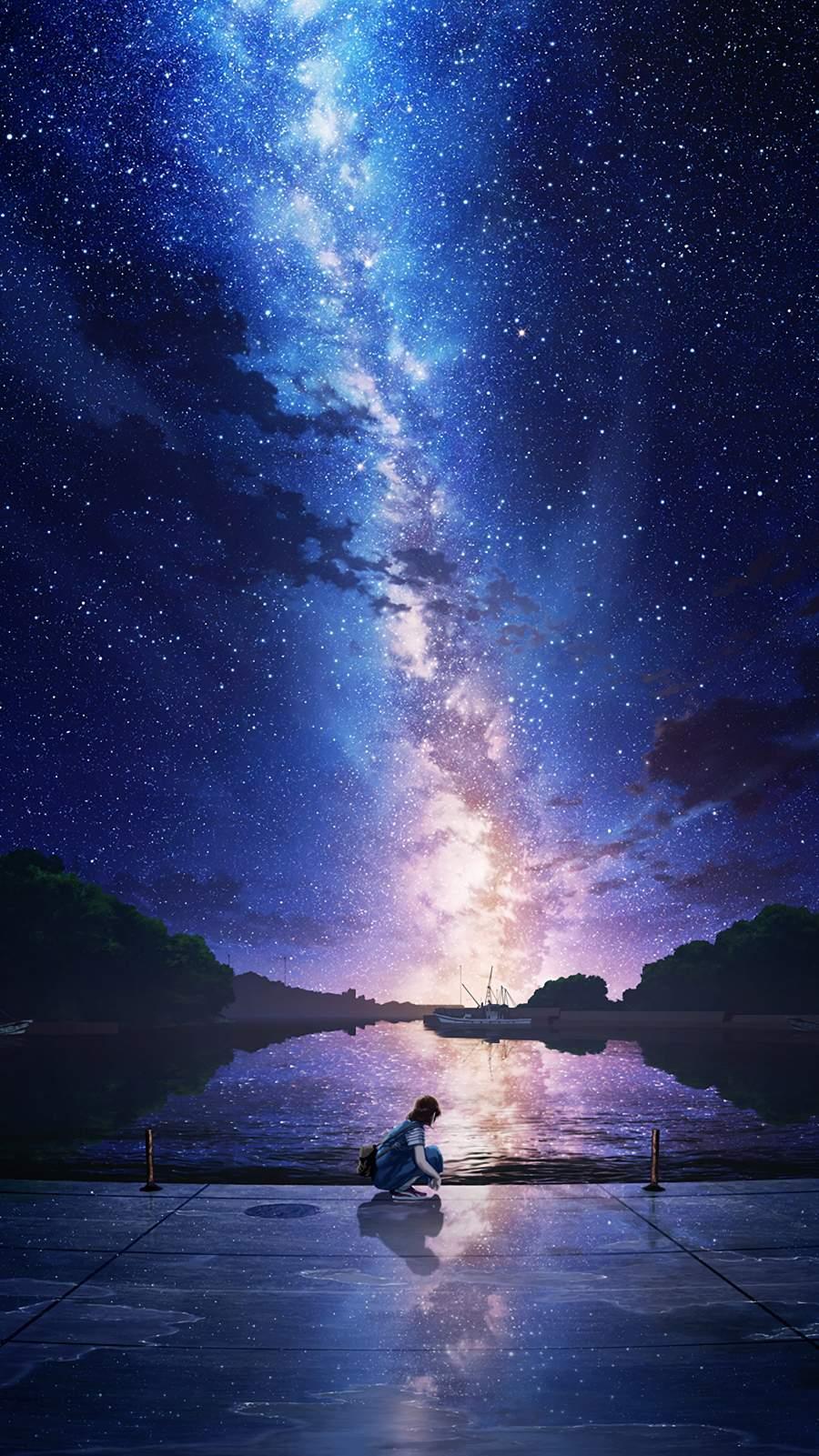 Night Sky Anime