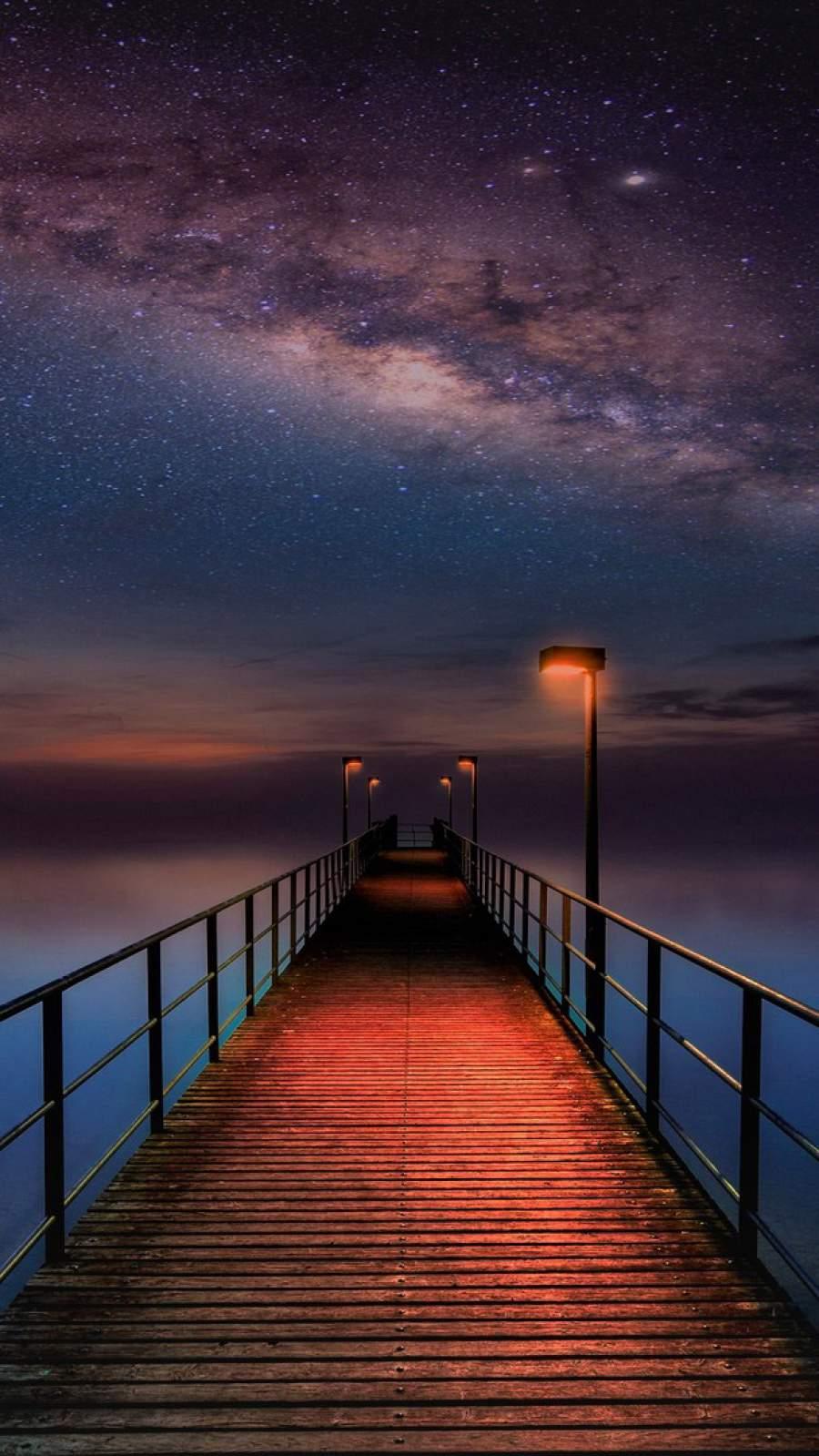 Night Star View Pier