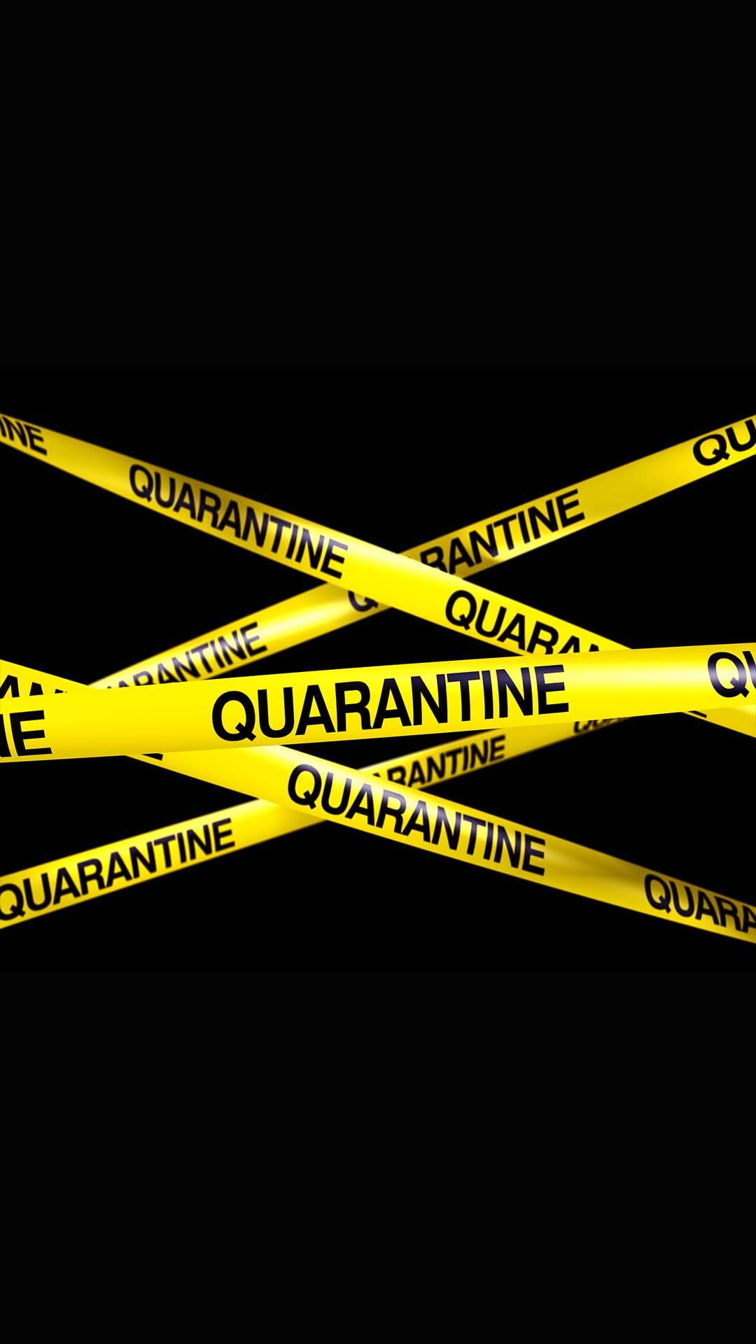 Quarantine iPhone Wallpaper