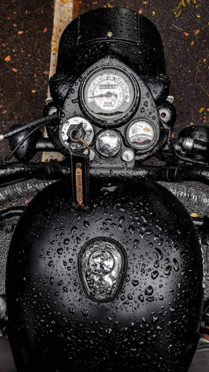 Royal Enfield Bullet Stealth Black