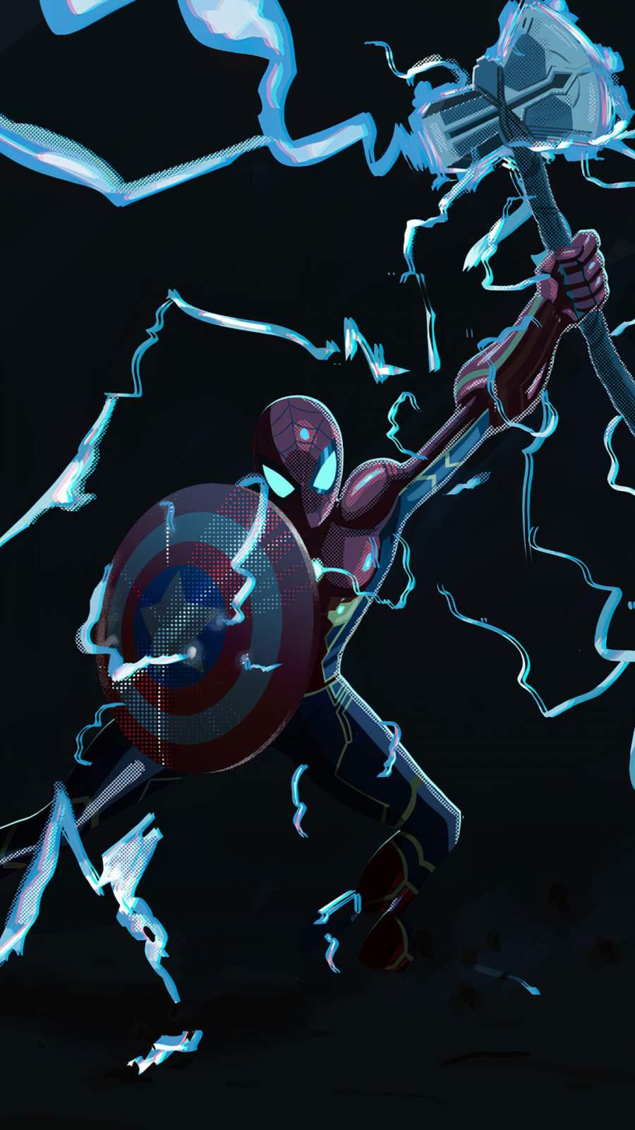 Spiderman Thor Hammer