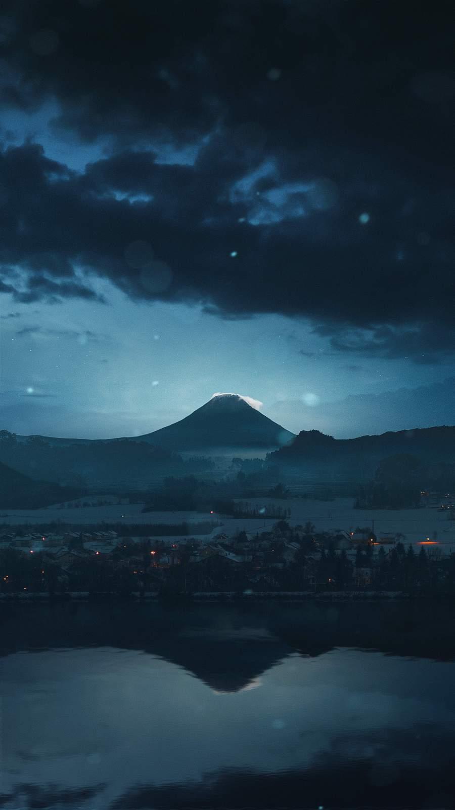 Sunset Mount Fuji