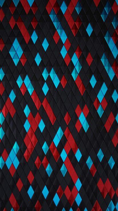 Tri Color Pattern Background