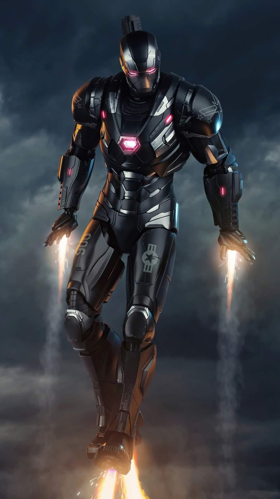 War Machine New Armor