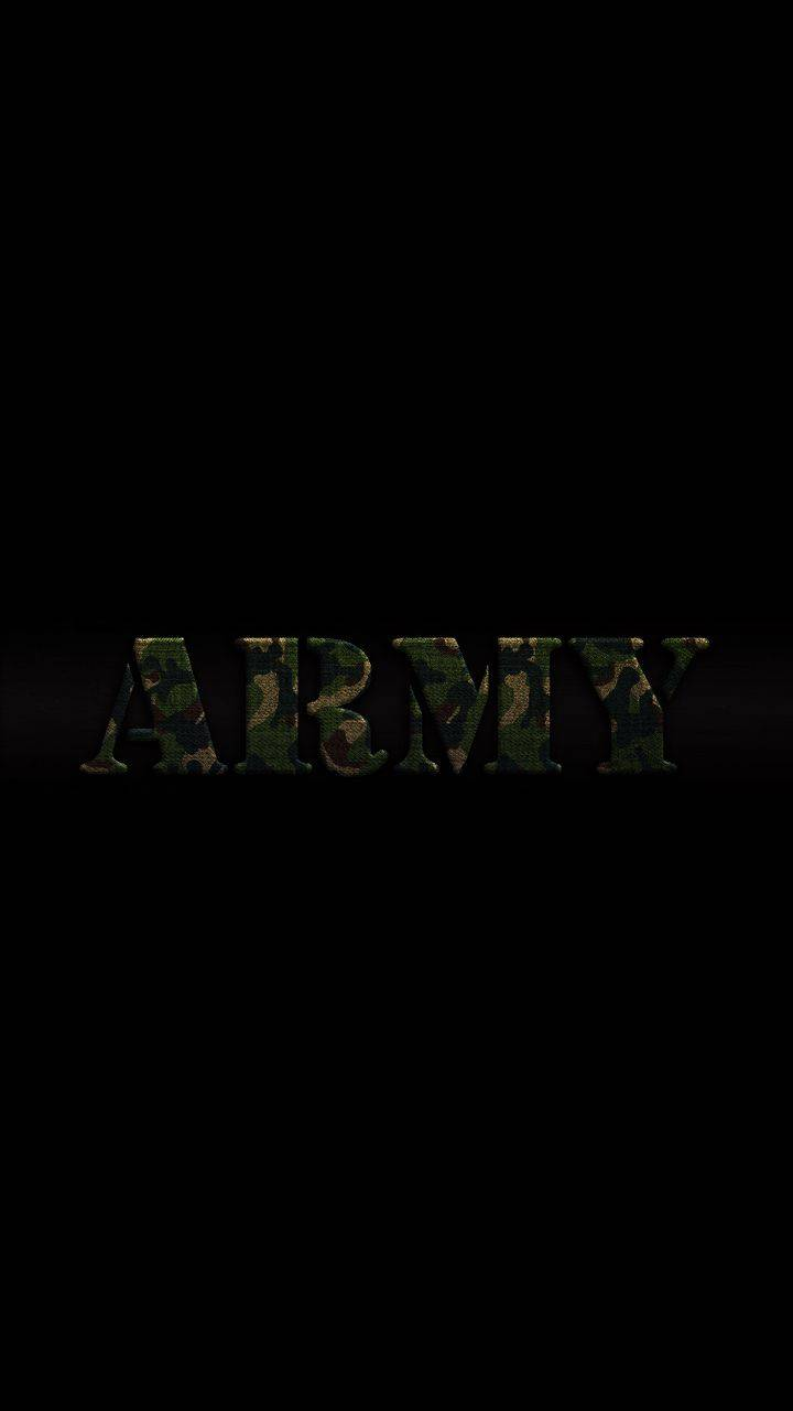 ARMY Dark Background