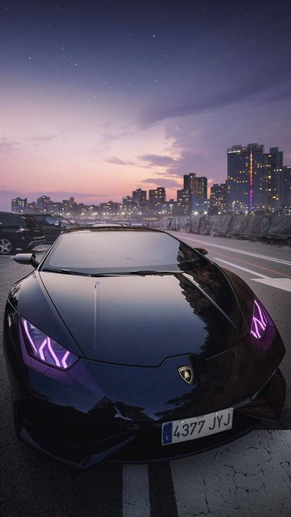 All Black Lamborghini
