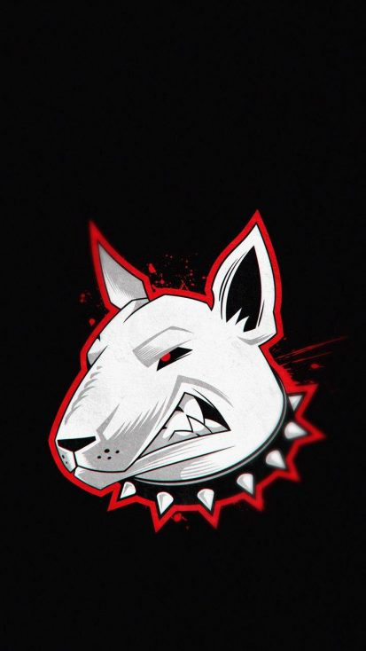 Angry Dog Wallpaper