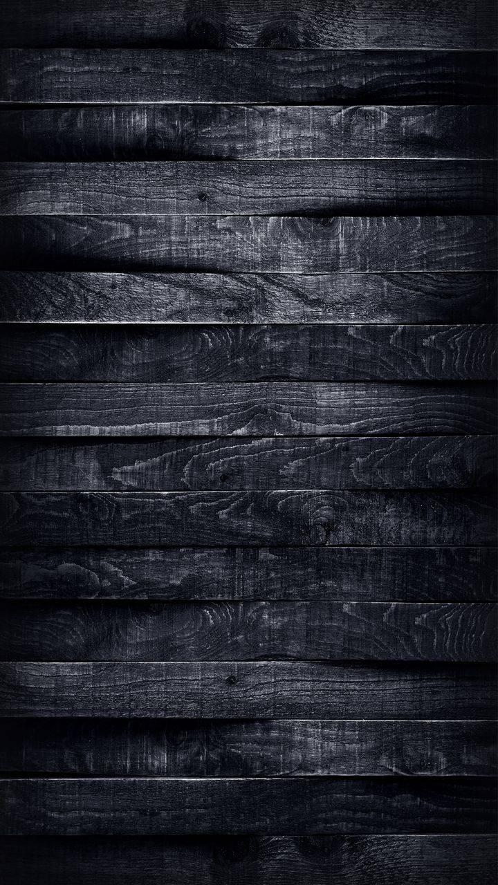 Black Wood Texture Background Wallpaper