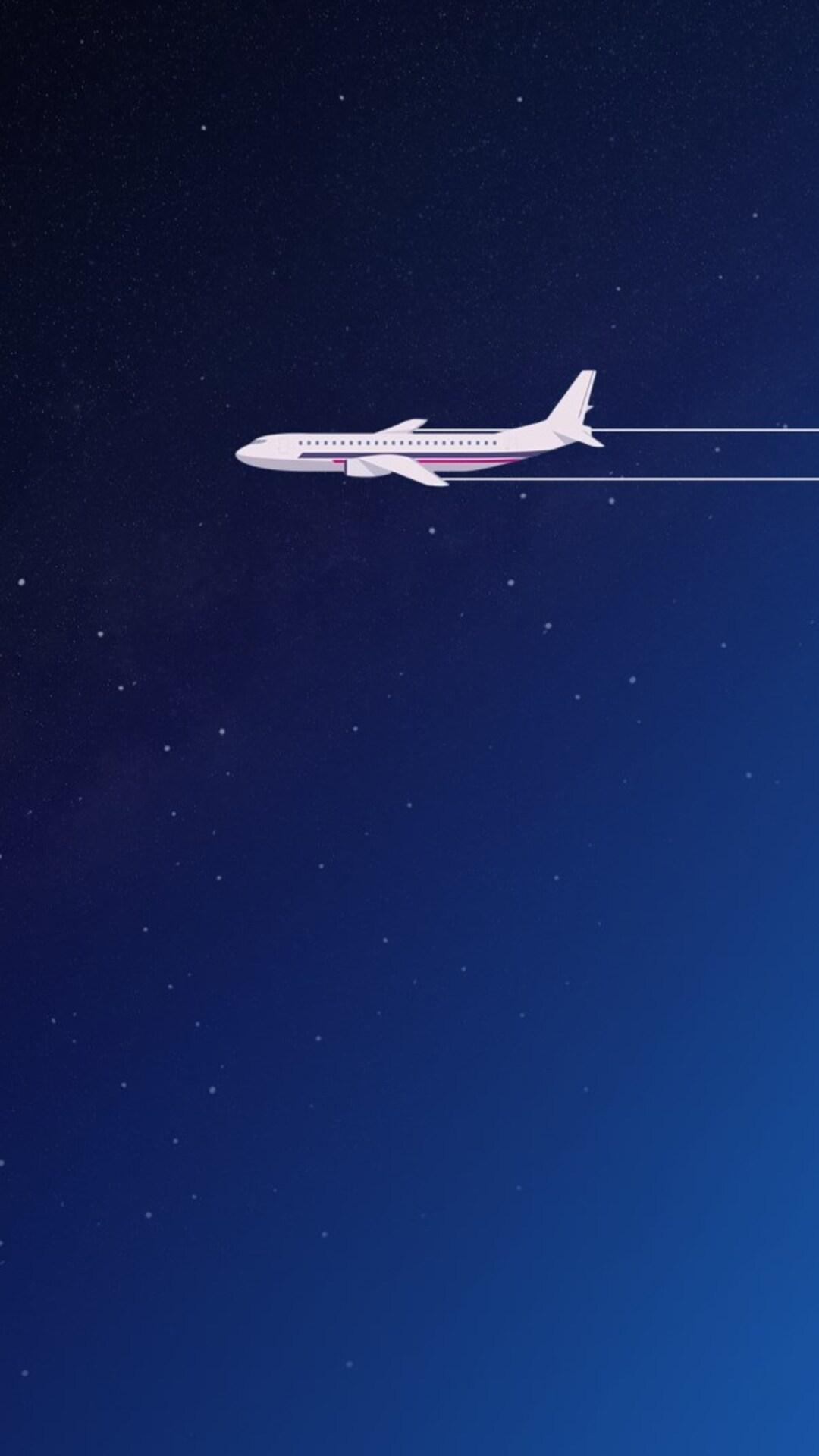 Boeing 747 Minimal Art