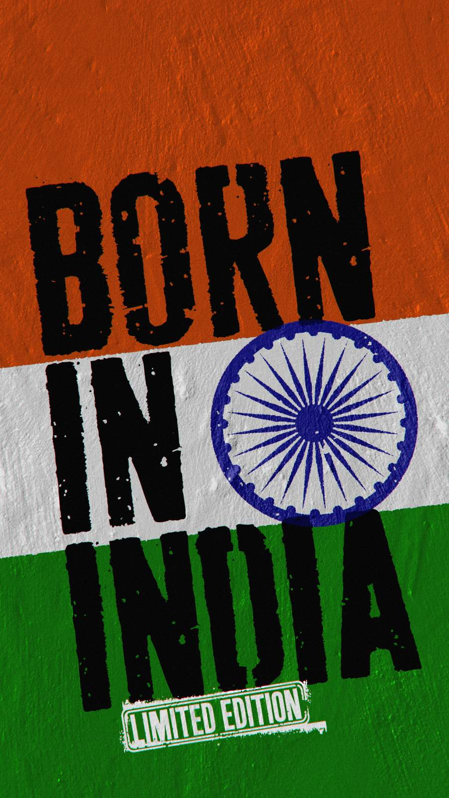 Born in India