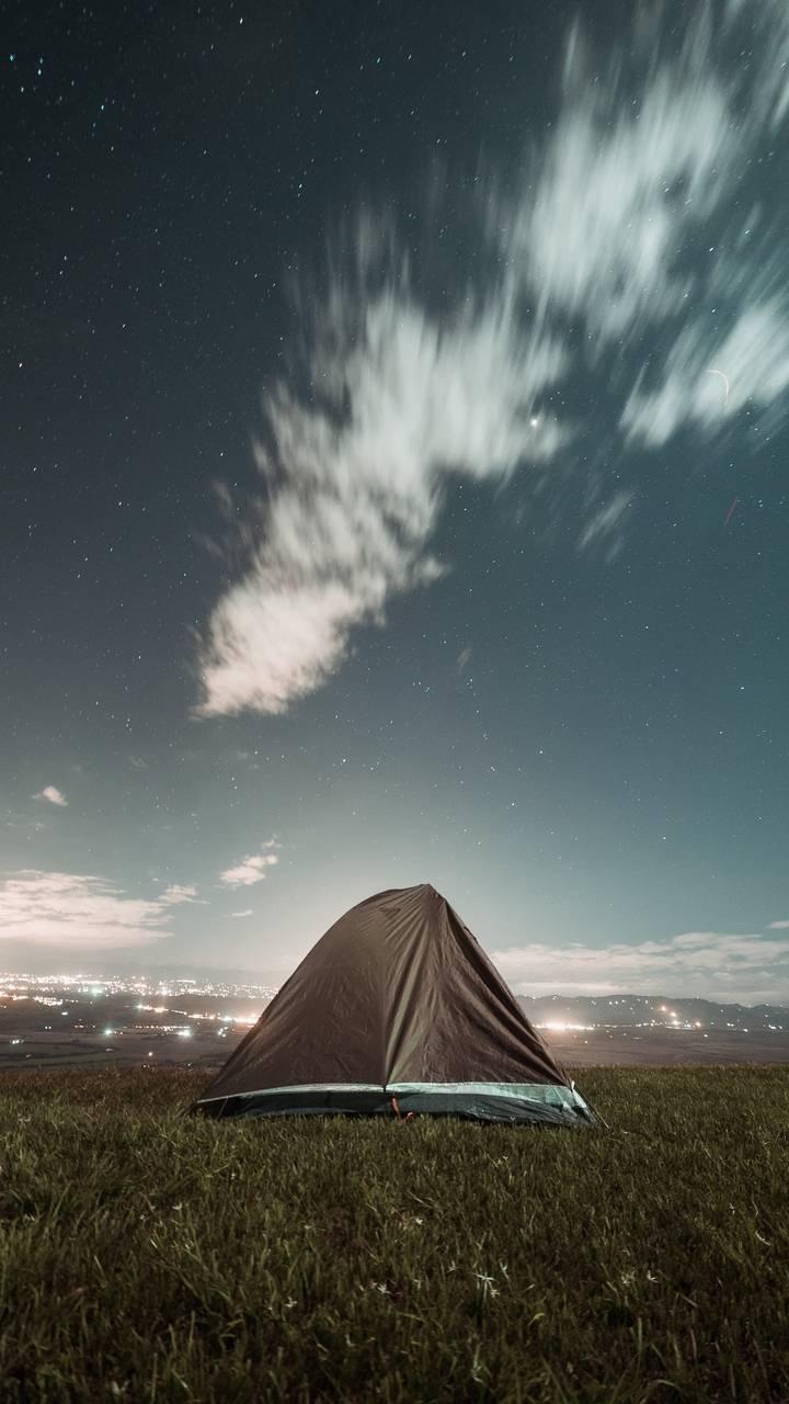 Camping Tent Night