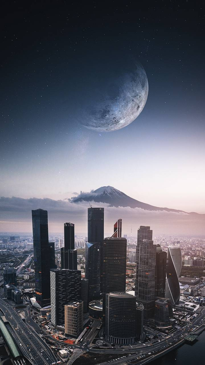 City iPhone Wallpaper