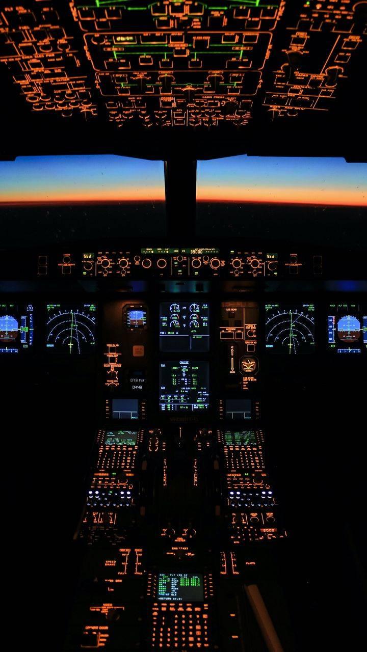 Cockpit View Wallpaper