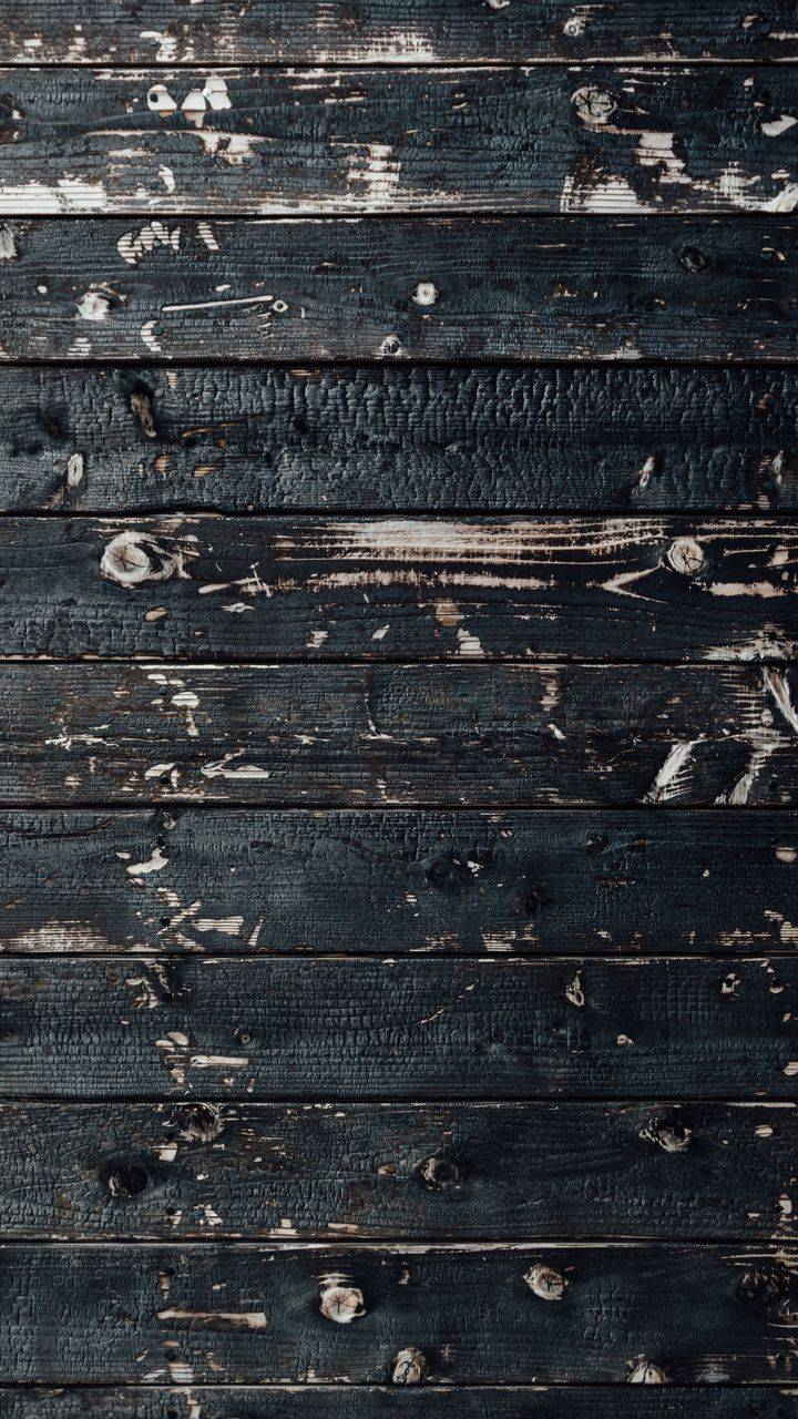 Dark Wood Pattern Wallpaper