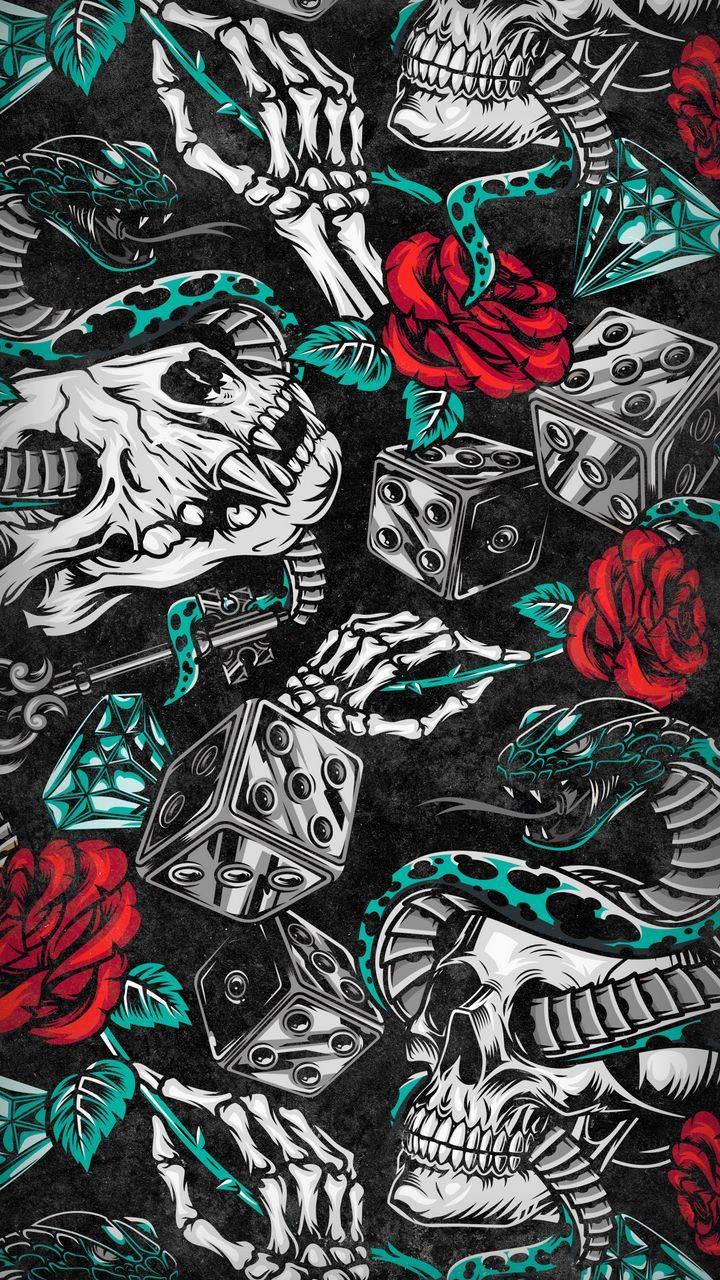 Death Tattoo Background