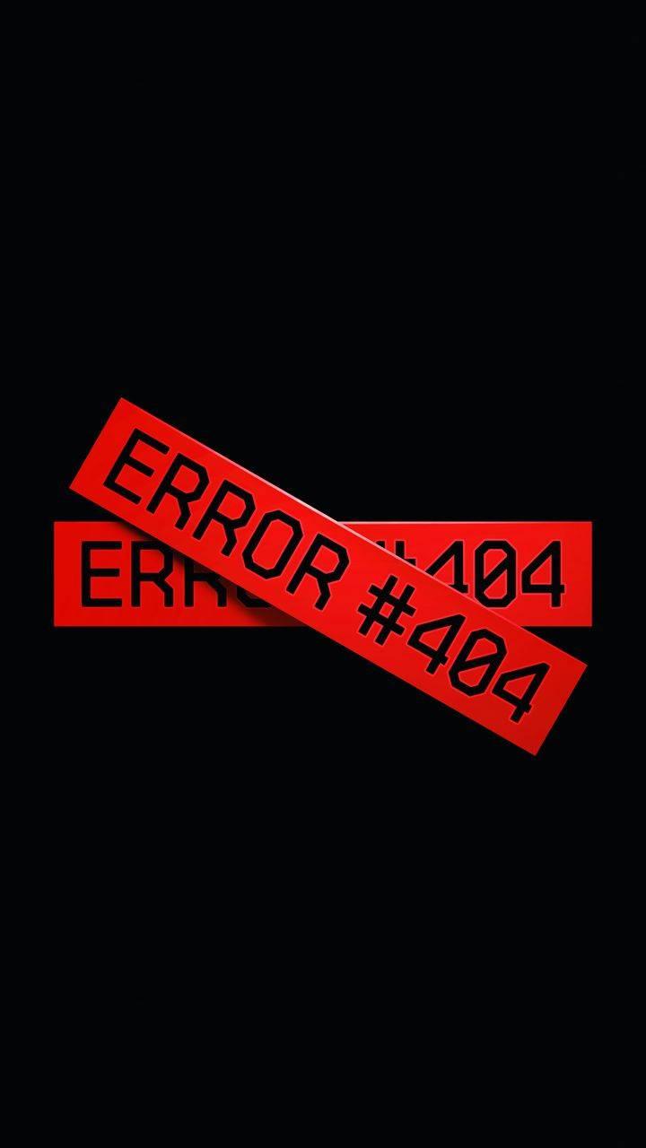 Error 404 Wallpaper