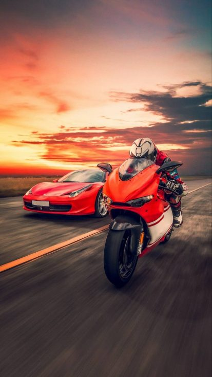 Ferrari vs Ducati