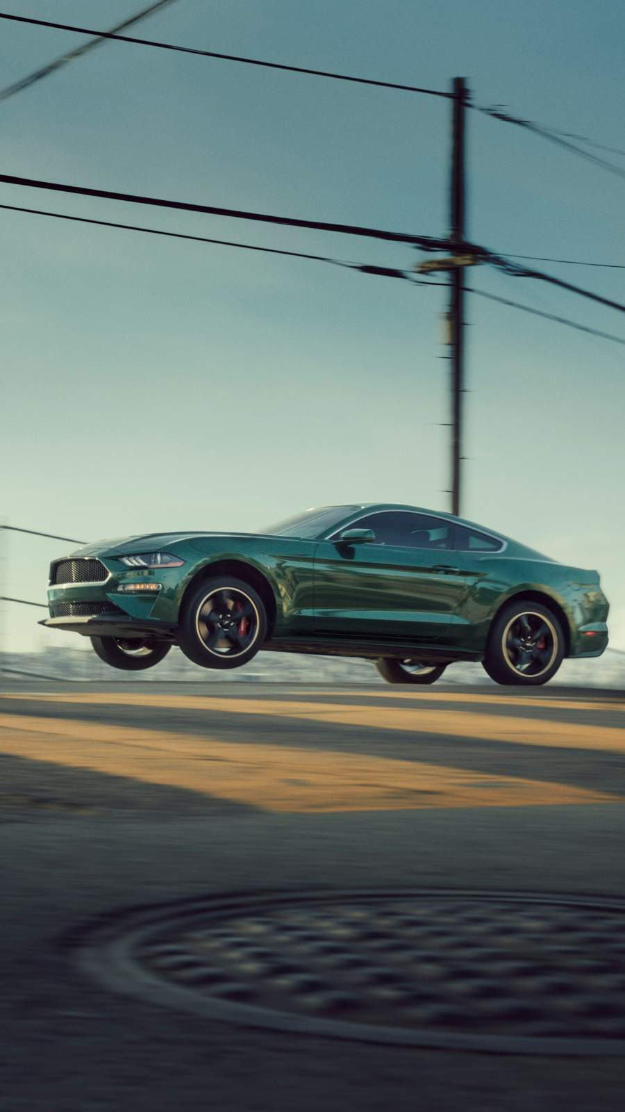 Ford Mustang Jump