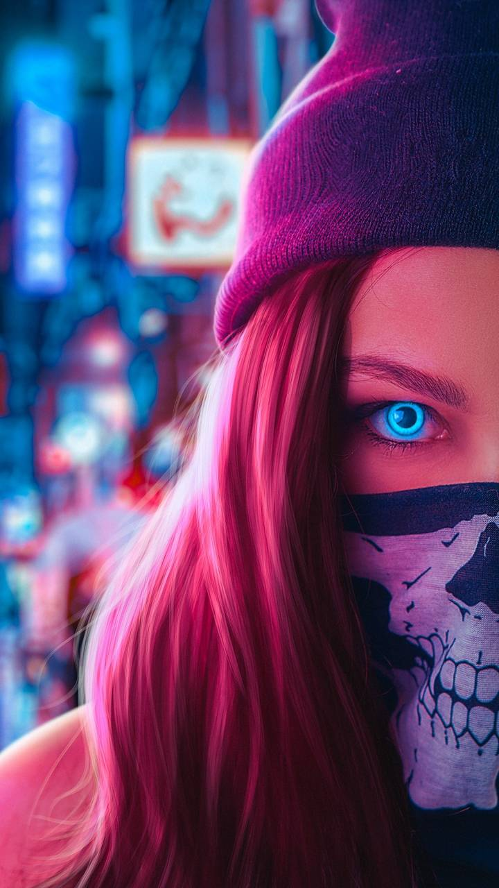 Ghost Mask Girl
