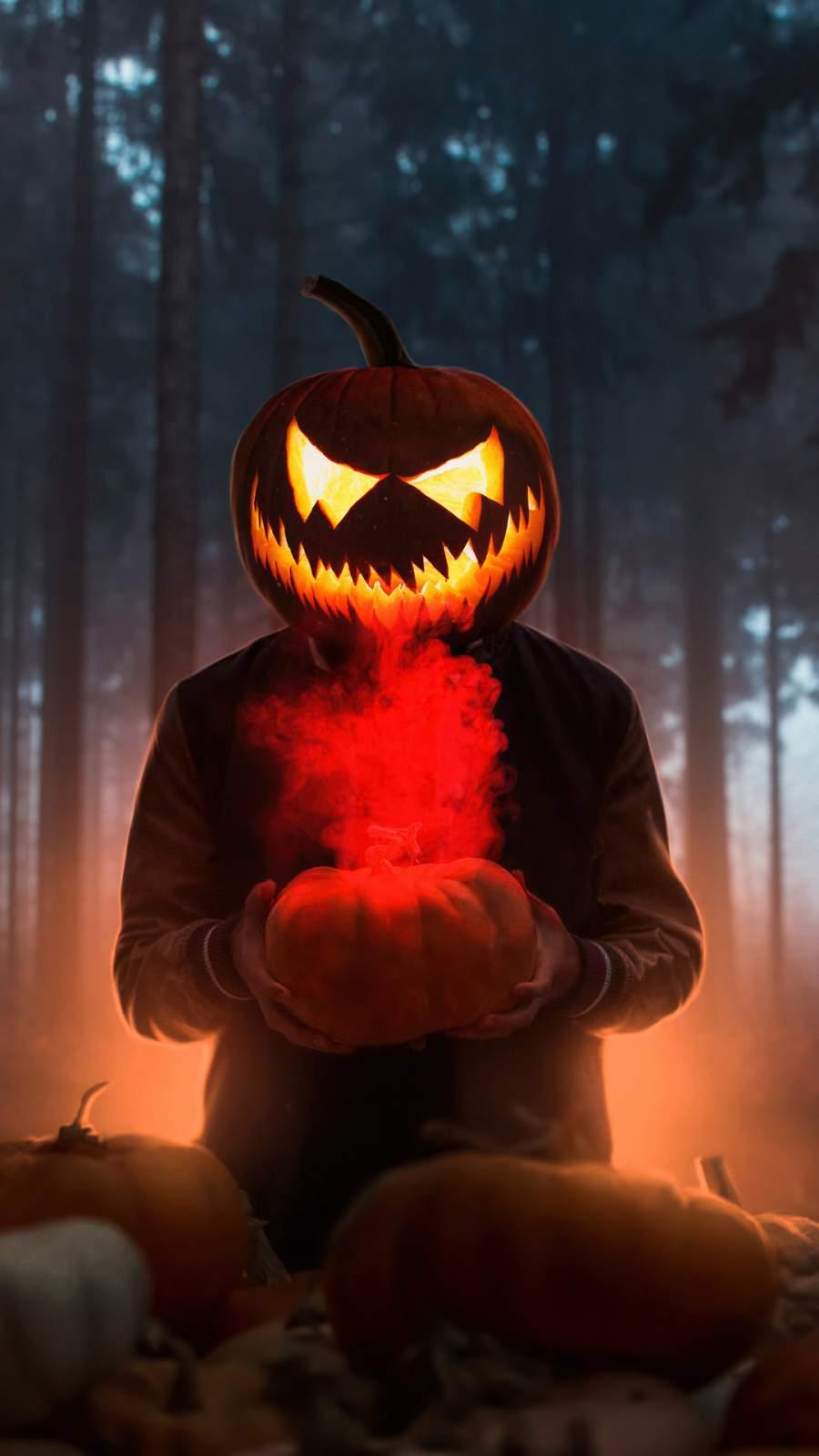 Halloween Glowing Mask