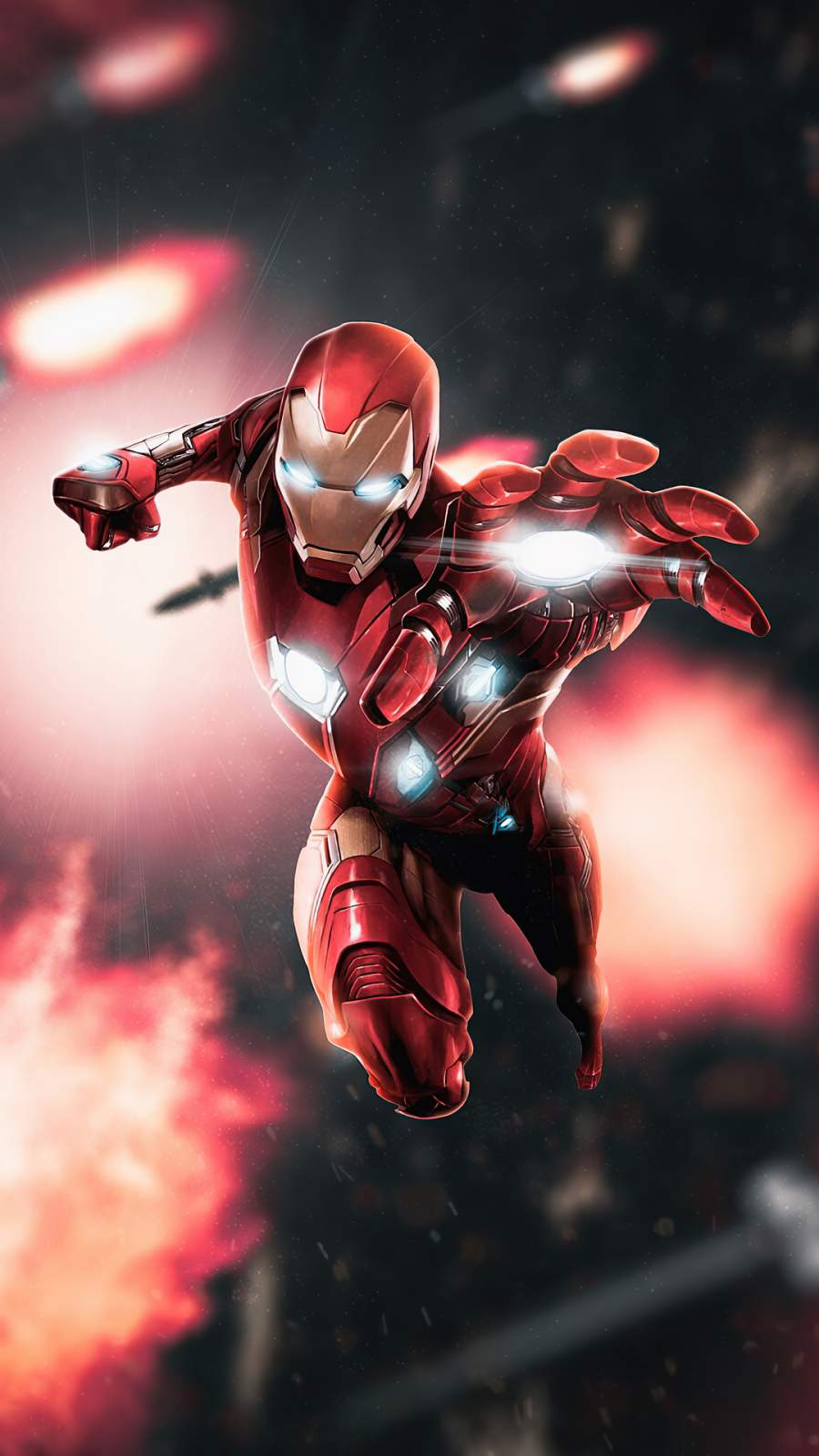 Iron Man 4K Wallpaper